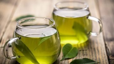 Chá de Folha de Abacate