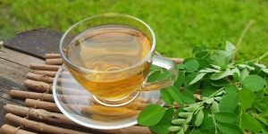 benefícios do chá de moringa