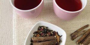 Benefícios chá de raiz de alcaçuz