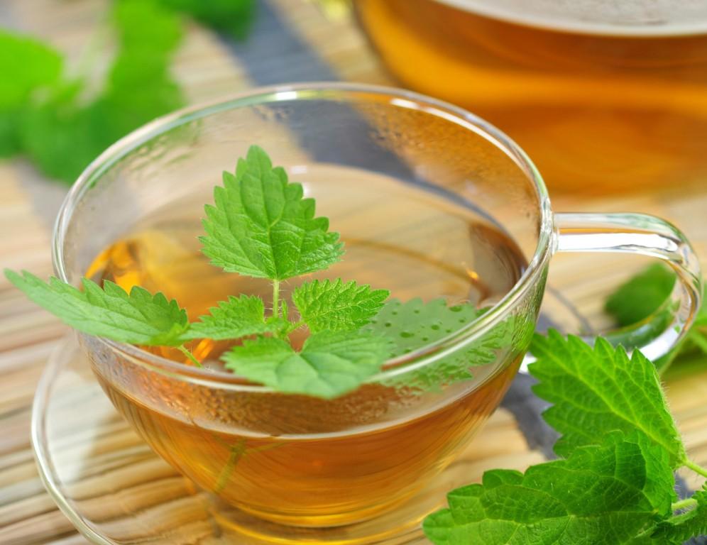 Chá verde com Hortelã