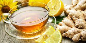 Chá de Gengibre e Limão - Benefícios Para Saúde e Receita