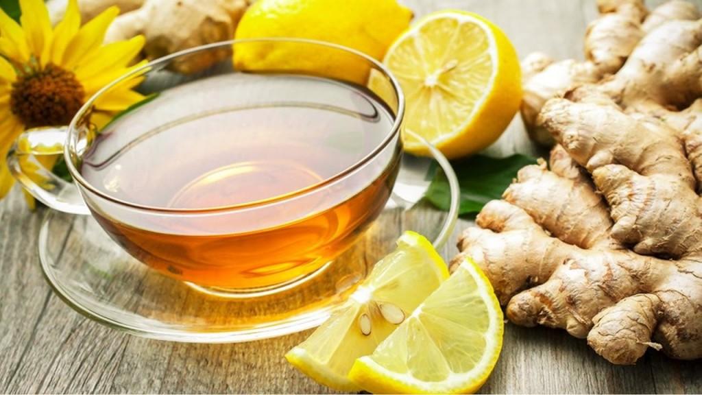 Benefícios do Chá de Gengibre e Limão