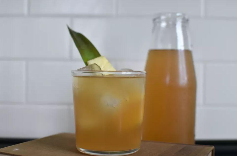 cha de abacaxi